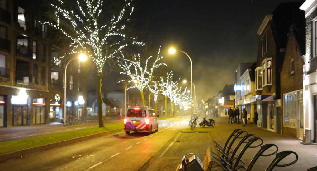 Rustig Oud&Nieuw in het centrum.
