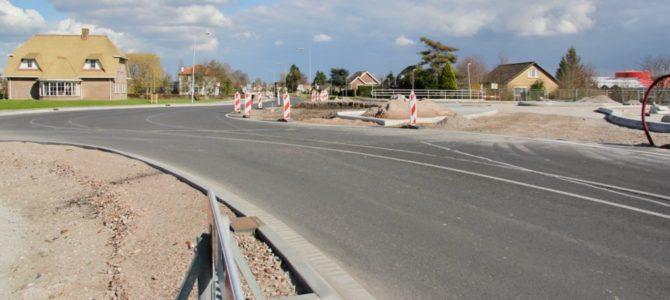 Delftsestraatweg week afgesloten.