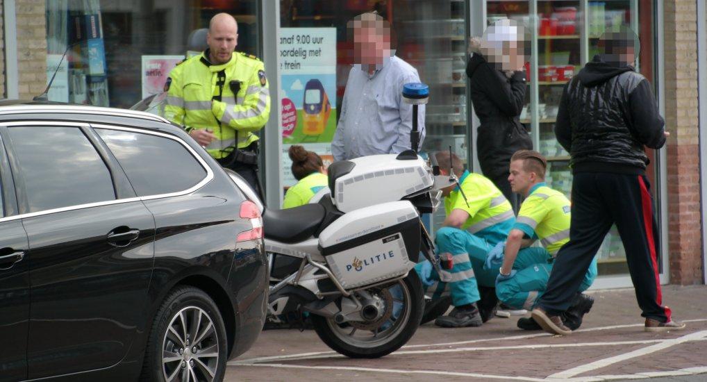 Ongeval auto vs scooter Oostlaan.
