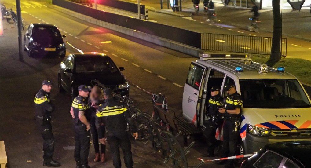 Autowandelaar aangehouden op Oostlaan.