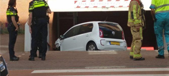 Eenzijdig ongeval Emmastraat.