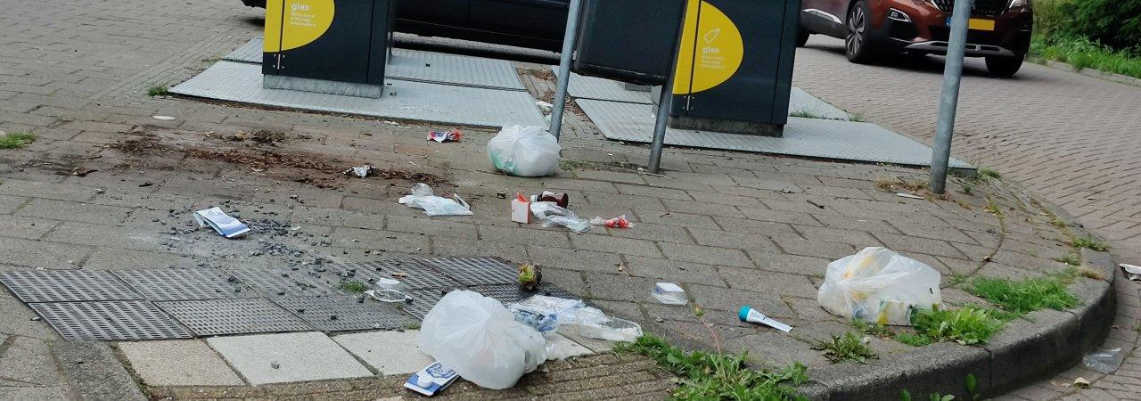 PMD Hazelaarplein weg.