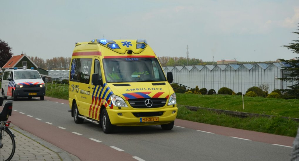 Traumaheli land bij Intratuin.