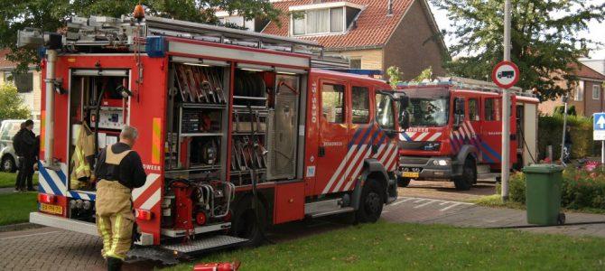 Brand in afzuigkap Emmastraat Pijnacker.