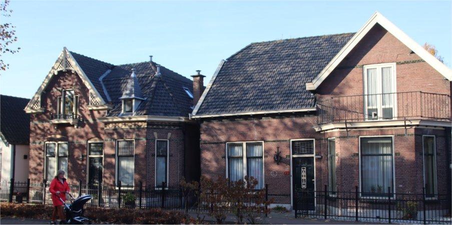 Meer monumenten op de Oostlaan.