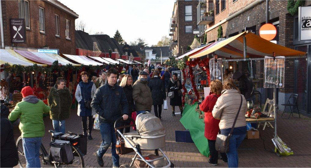 Zaterdag 14 december Kerstmarkt.