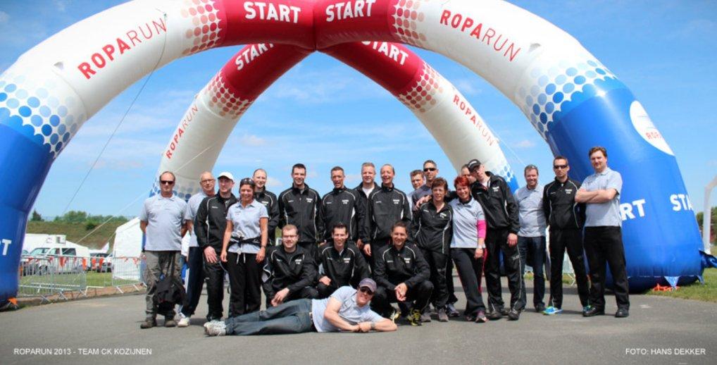 Roparun team 116 live te volgen.