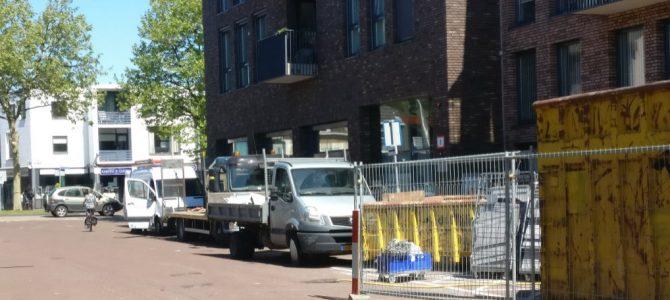 Verbouwing Ackershof2 in volle gang.