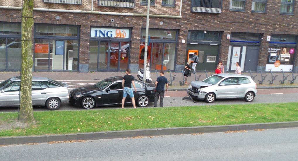 Kettingbotsing Oostlaan Pijnacker