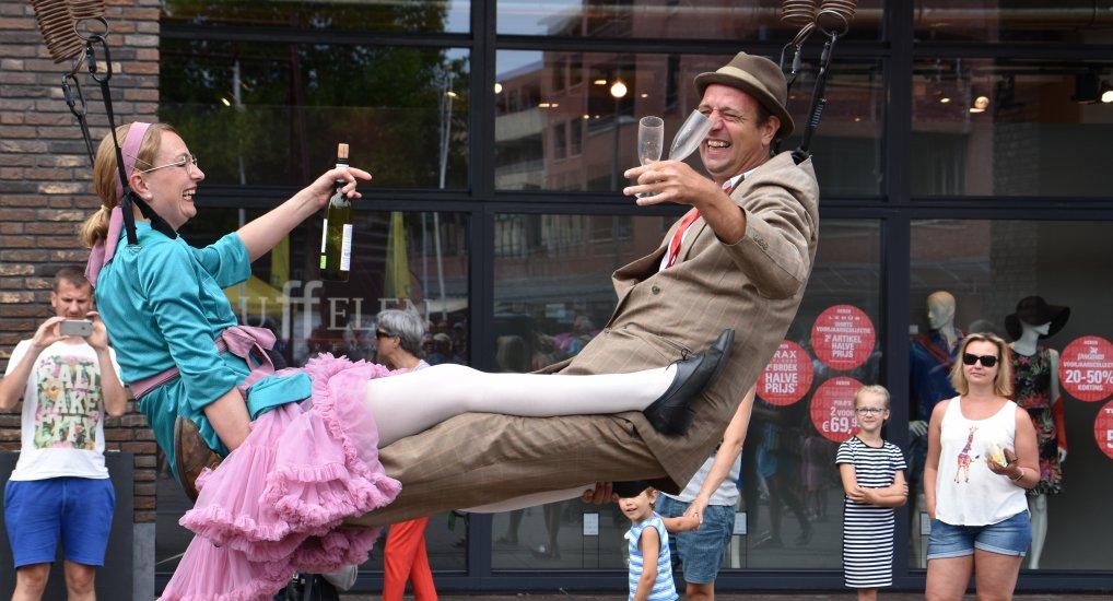 Straattheater Festival Geweldig succes.