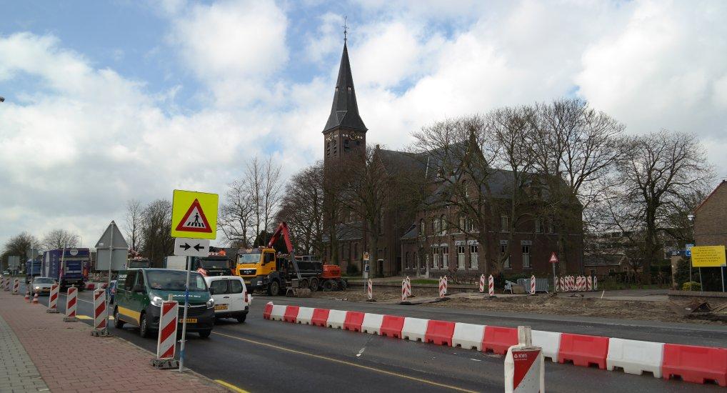 Pijnackerse Poort compleet afgesloten.