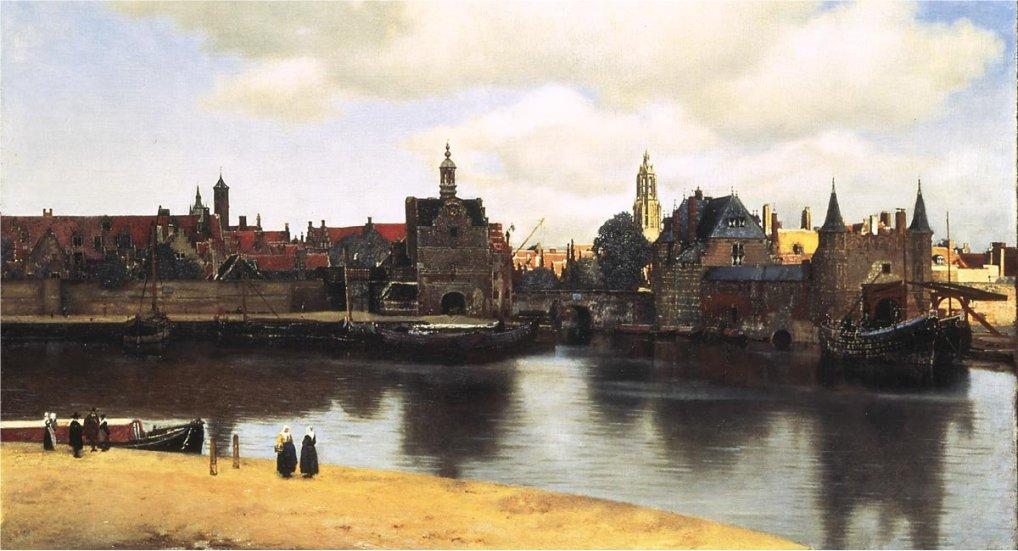 Johannes Vermeer in het Wittehuis.