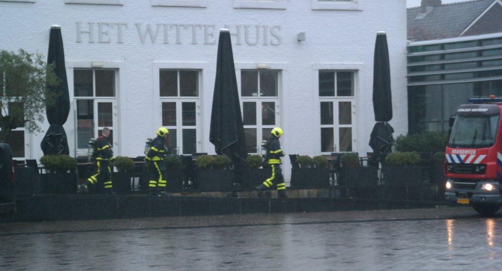 Brandalarm Fratelli / Witte huis.