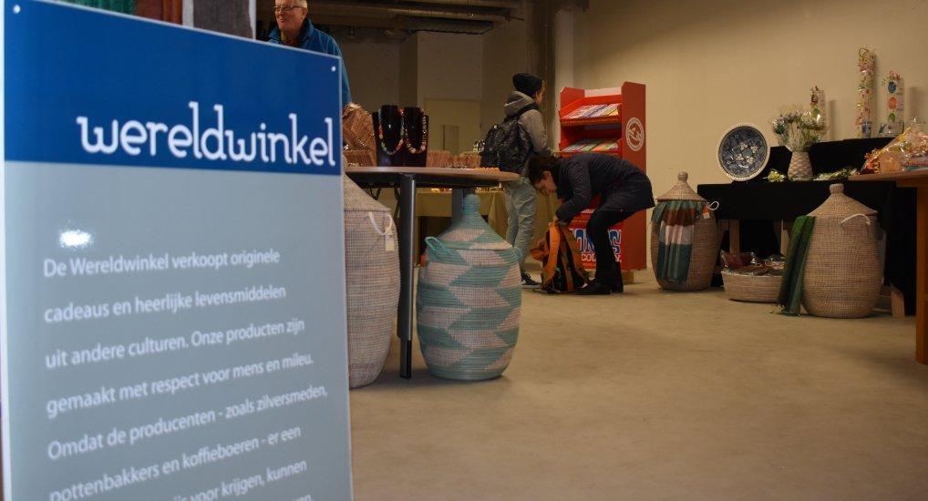 PopUp store voor Wereldwinkel.
