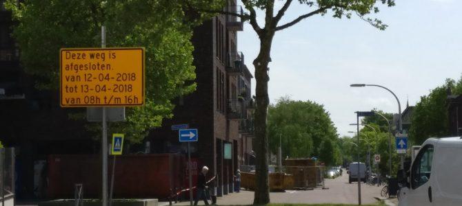 Verkeersbord Noordweg vergeten ?