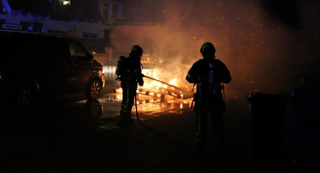 Pyromaan slaat toe in het centrum.