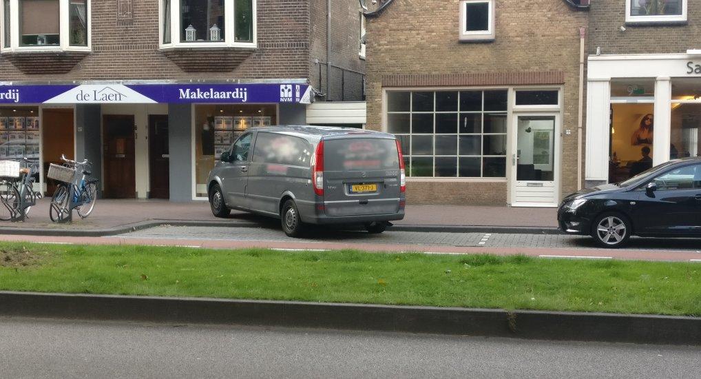 Bloemenwinkel op de Oostlaan.