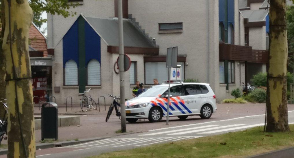 Speedbike aangehouden op Oostlaan.