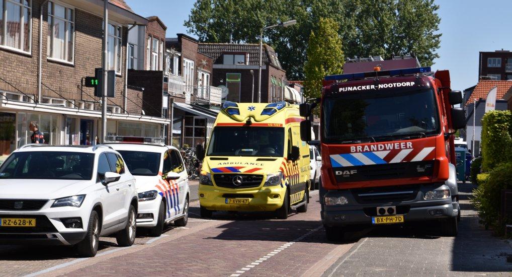 Medische Noodsituatie Stationsstraat.