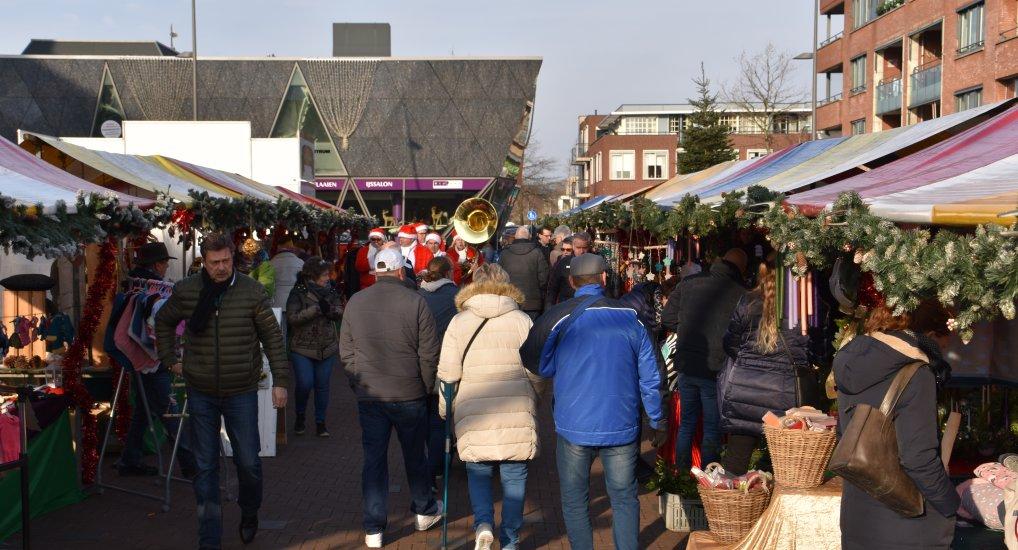 Kerstmarkt in Pijnacker centrum.