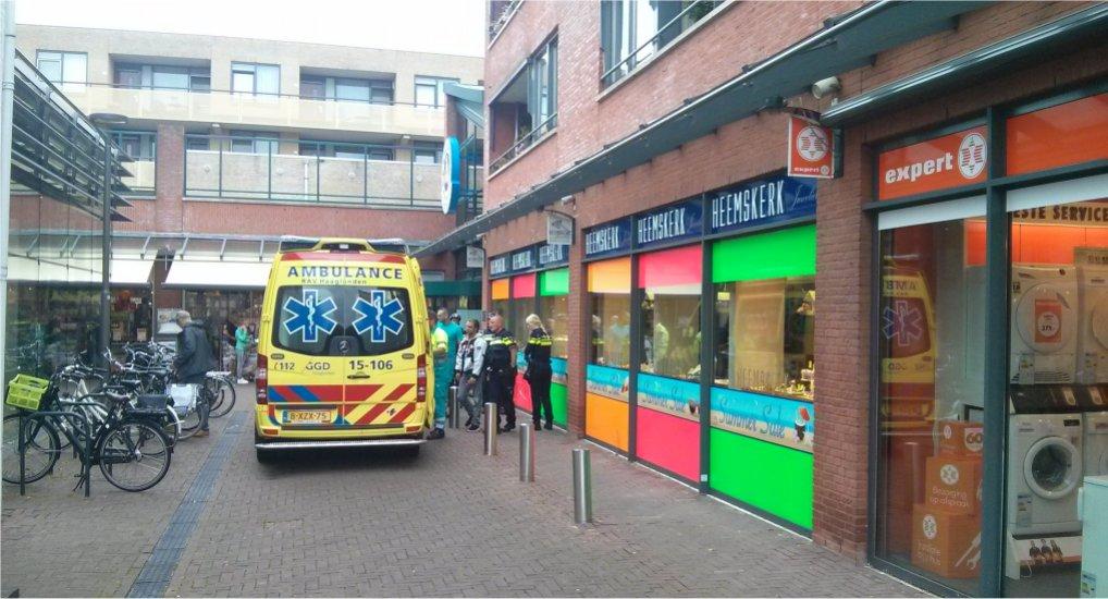Winkeldief gewond bij Ackershof1.