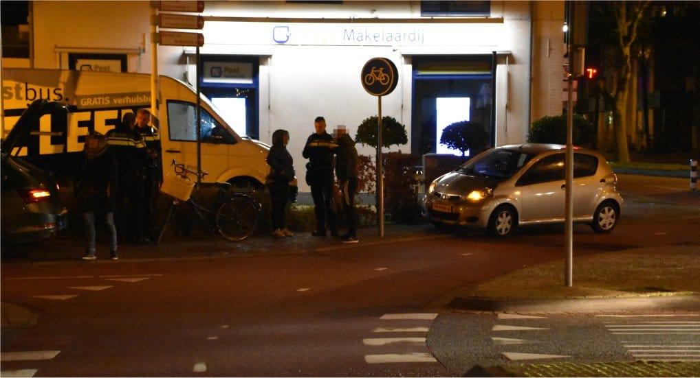 Ongeval rotonde Westlaan/Noordweg.