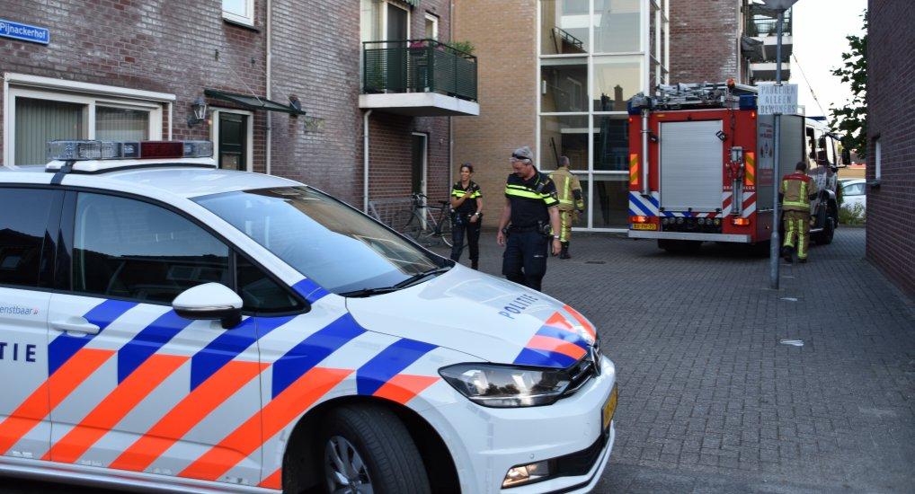 Brandgerucht Adam Pijnackerstraat.
