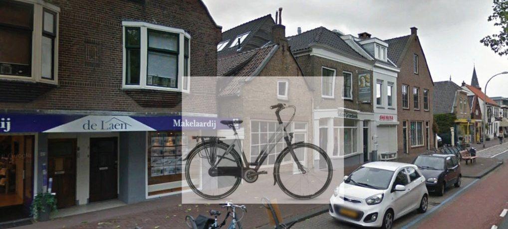 Fiets gestolen op de Oostlaan.