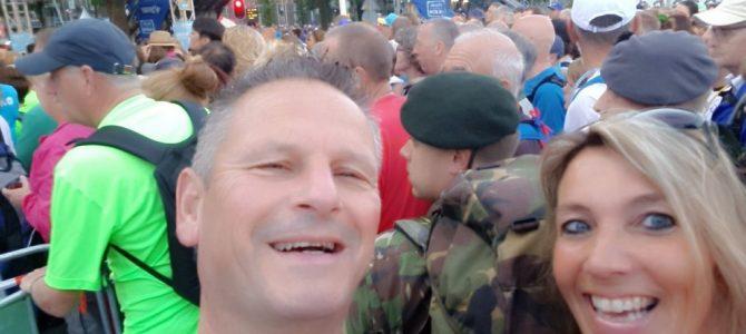 Pijnackernaren naar hun zin bij Vierdaagse.