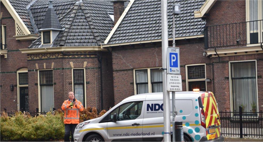 Camera's verkeersonderzoek geplaatst.