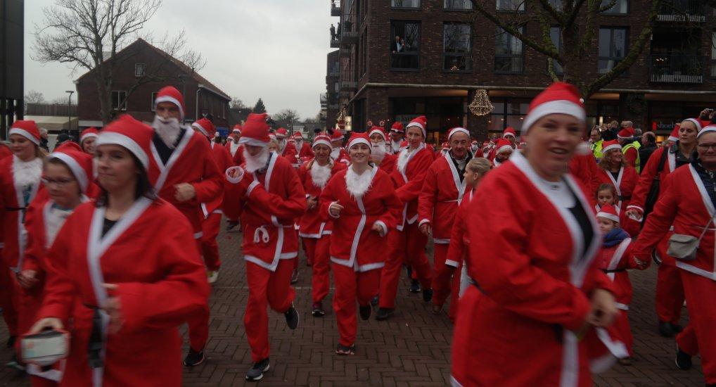Kerst Run Raadhuisplein.
