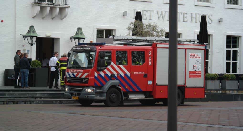 Brandweer en het Wittehuis brandalarm.