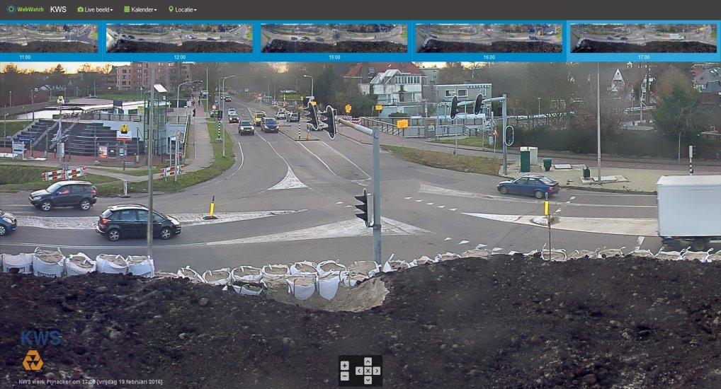 Geweldige webcam KWS Rotterdam.