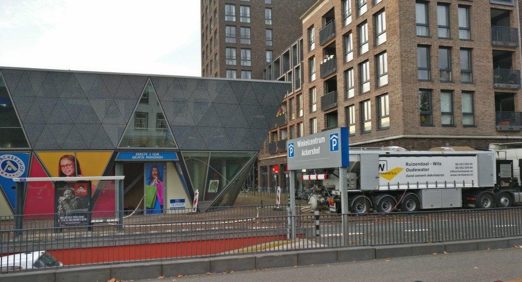 Sportschool in Diamant Raadhuisplein.