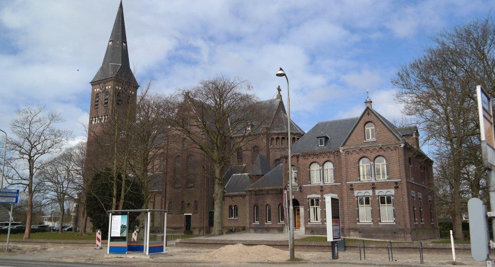 Nieuwe bushalte Oostlaan.