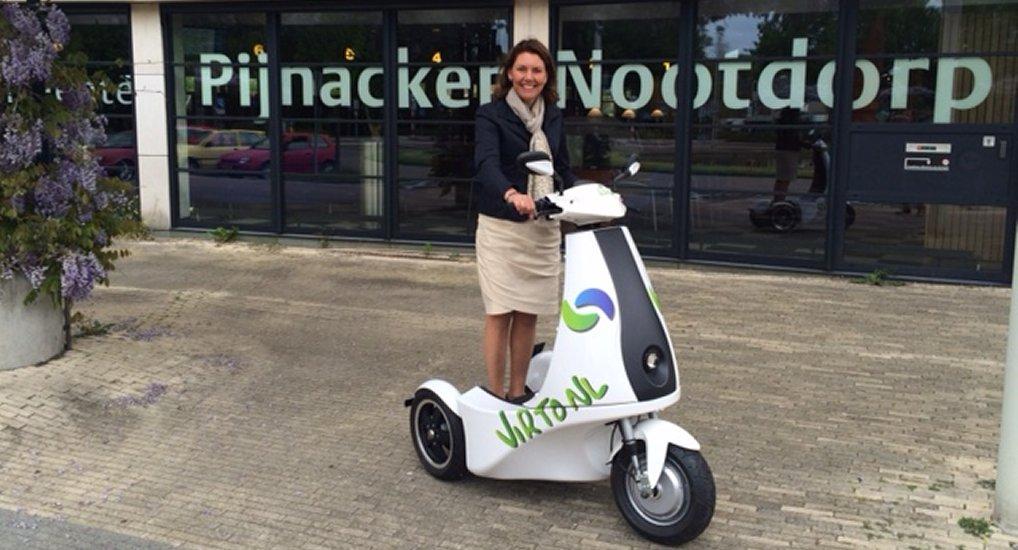Mobiliteitsdag op het Raadhuisplein.