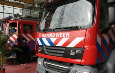 Verbod om stil te staan bij Brandweer.