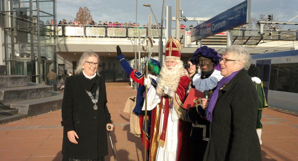 Gezellige intocht Sinterklaas Pijnacker.