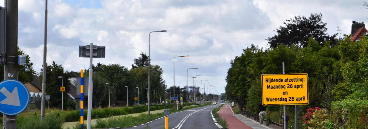 Rijdende afzetting Delftsestraatweg