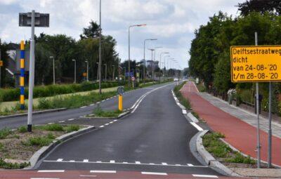 Delftsestraatweg wederom afgesloten.