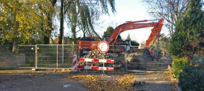 Oversteek Noordweg – Goudenregensingel afgesloten.