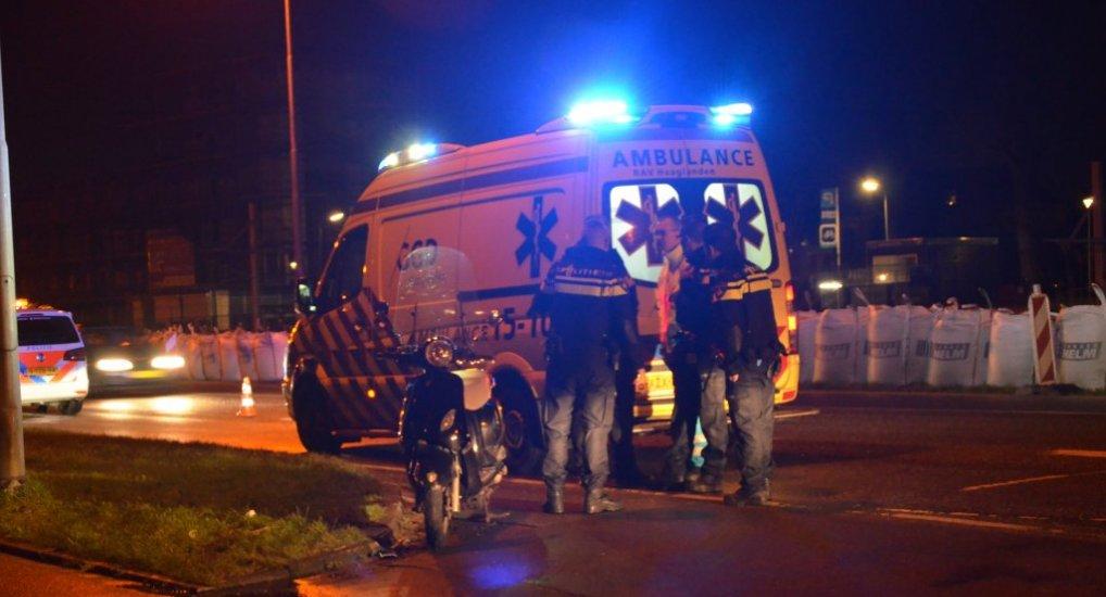 Valpartij Scooterrijder Klapwijkseweg