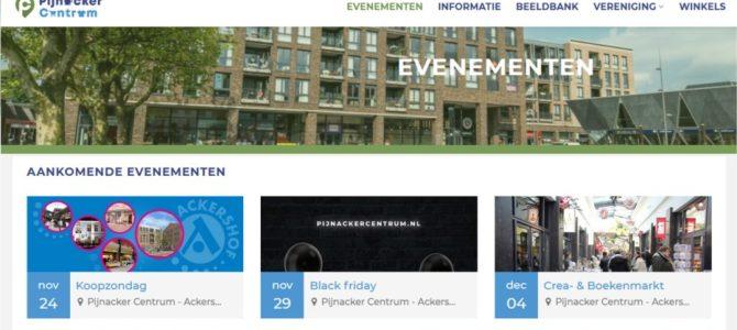 Nieuwe website Pijnackercentrum.nl
