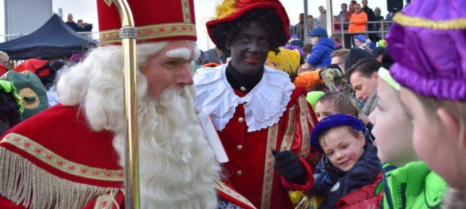 Sinterklaas komt aan in Pijnacker.