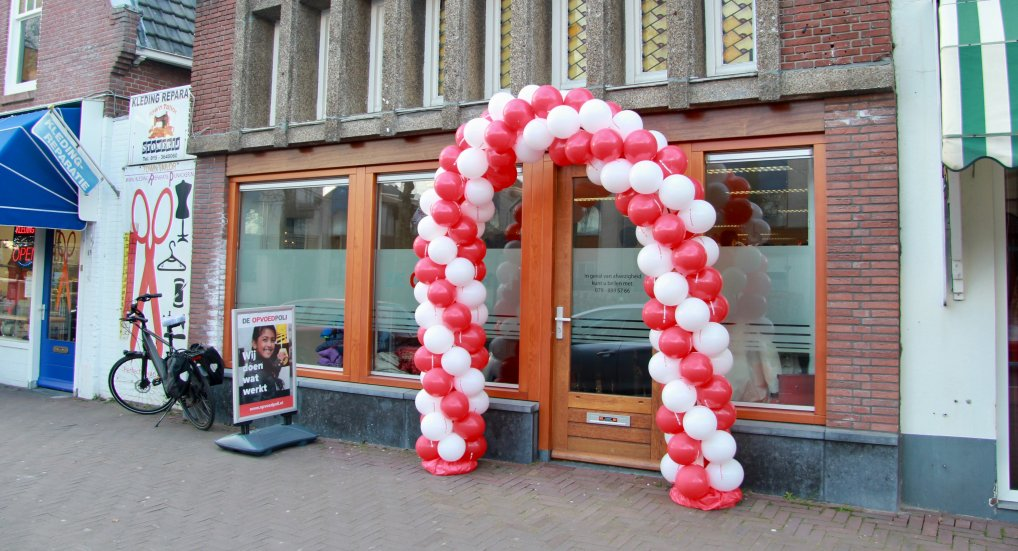 Opvoedpoli Westlaan officieel geopend.