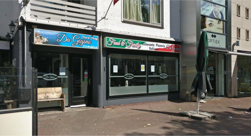 Nieuwe eigenaar Pizzeria Oostlaan 1.