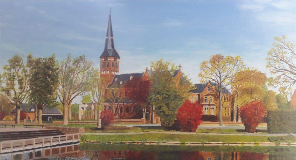"""Tentoonstelling """"Pijnacker door Wim Meijer."""""""