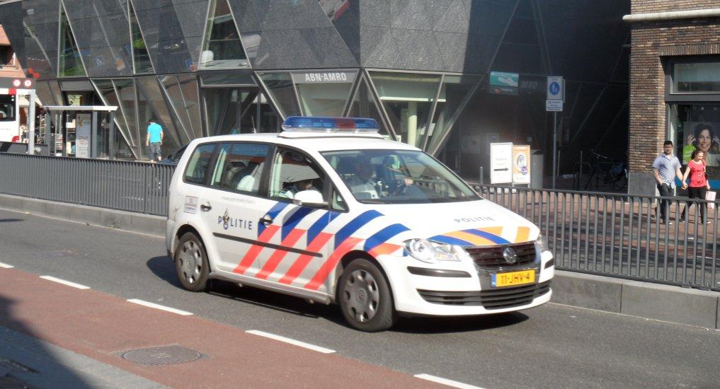 Actie veilige snelheid wijkagent Pijnacker