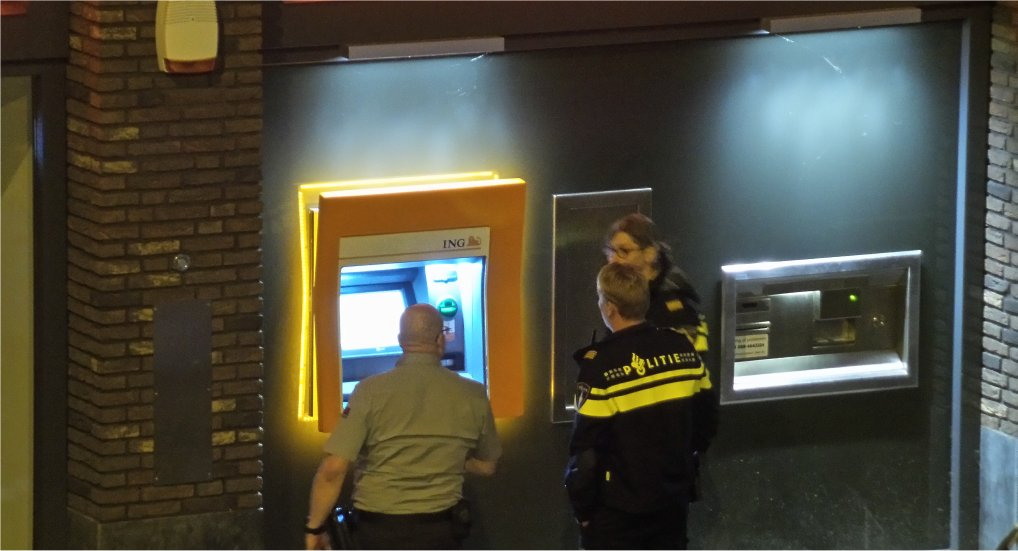 Controle pinautomaat Oostlaan.
