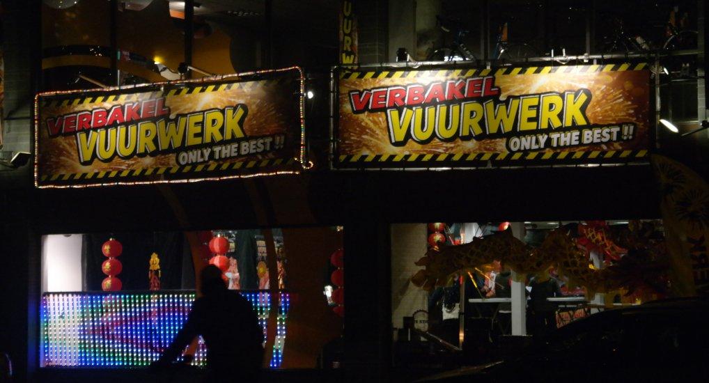Vuurwerk verkoop Westlaan gestart.